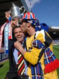 Carlos Cuellar, Nacho Novo Scottish FA Cup