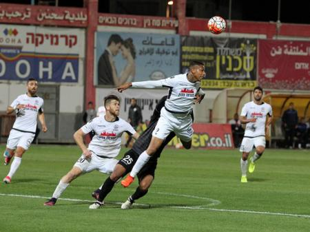 Maccabi Petah Tikva saw the game slipped away in the last minutes